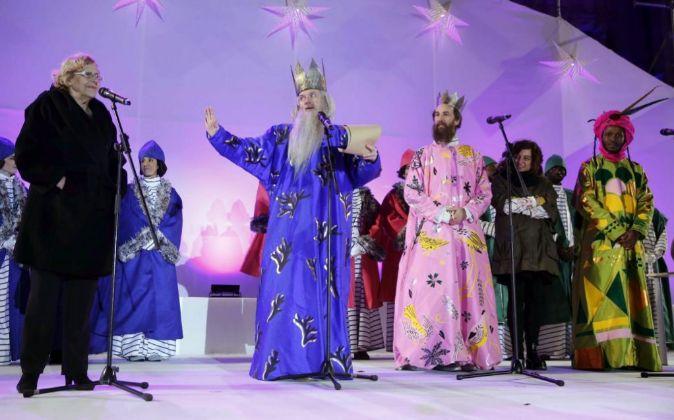 Cabalgata de los Reyes Magos en 2016.