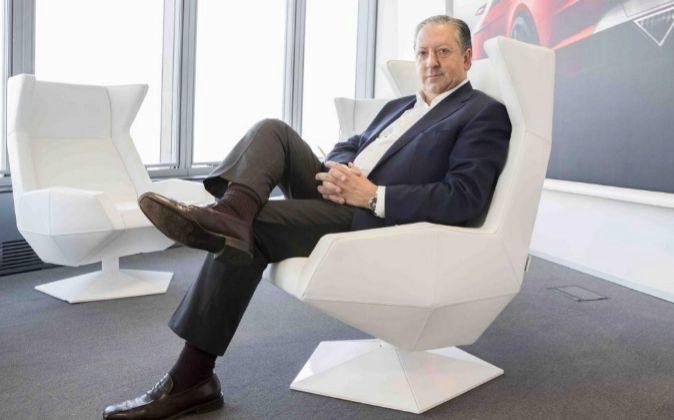 Ramón Paredes, presidente de la comisión de formación de la Cámara...