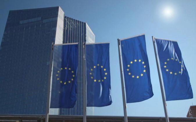 SEDE DEL BCE, EL BANCO CENTRAL EUROPEO, EN FRANKFURT, ALEMANIA