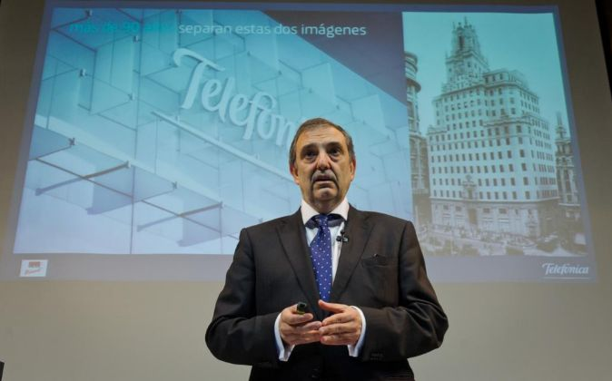 Luis Miguel Gil Pérez, presidente de Telefónica España.