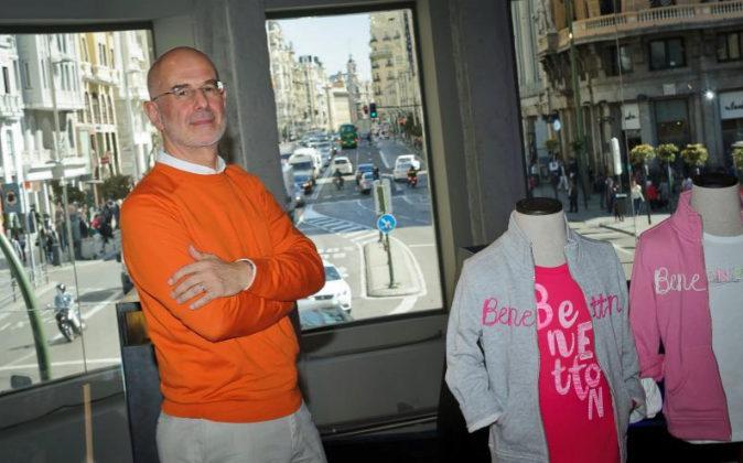 Marco Airoldi CEO de Benetton.