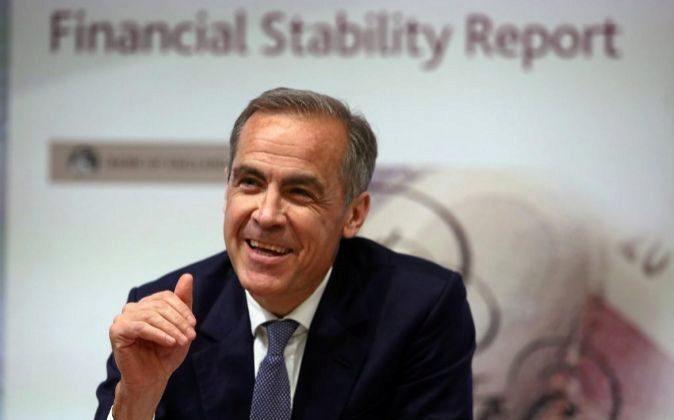 Mark Carney, es el Gobernador del Banco de Inglaterra (Bank of England...