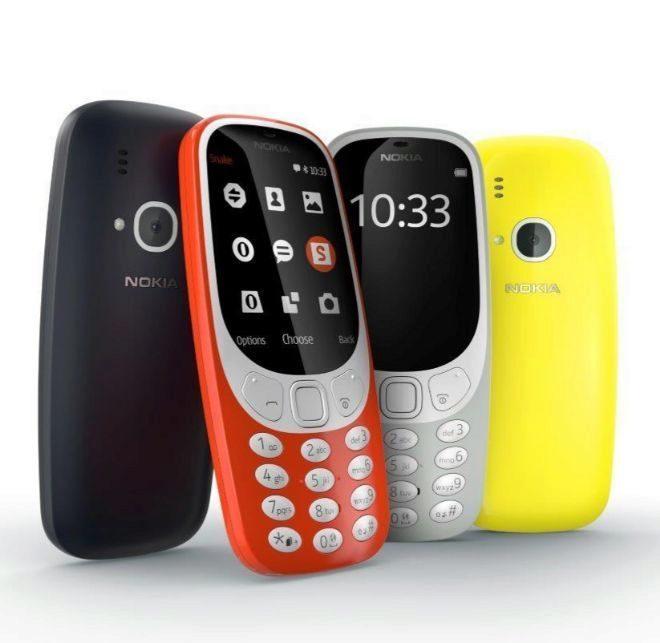 La nueva versión del Nokia 3310.