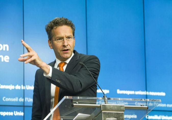 El presidente del Eurogrupo, Jeroen Dijsselbloem, en una imagen de...