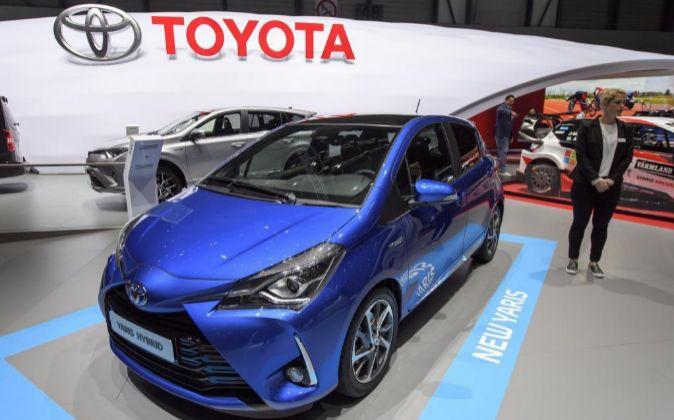 Presentación del Toyota Yaris durante el día abierto a la prensa del...