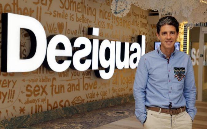 El director operativo de Desigual, Alberto Ojinaga.