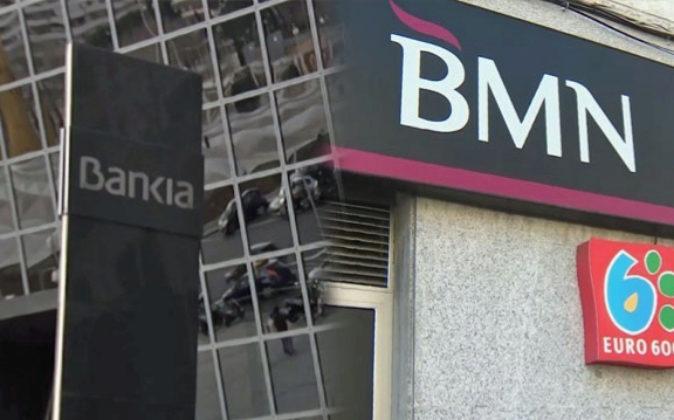 Oficinas de Bankia y BMN.