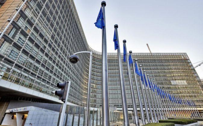 Edificio Berlaymont, sede de la Comisión Europea en Bruselas.