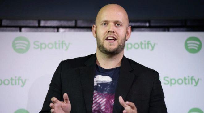 Daniel Ek, fundador y CEO de Spotify.