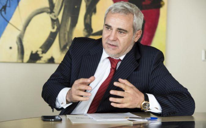 El presidente y accionista de la compañía Félix Abánades.