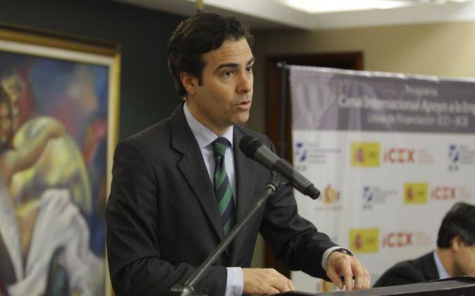 El presidente del Instituto de Crédito Oficial de España Pablo...