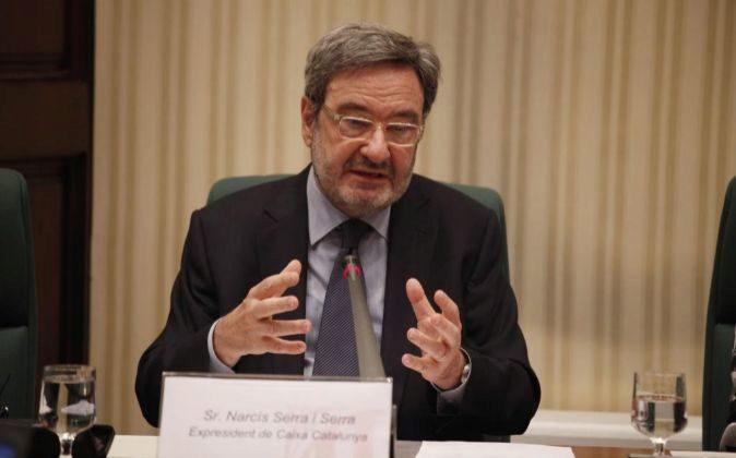 El expresidente de Catalunya Caixa, Narcís Serra.