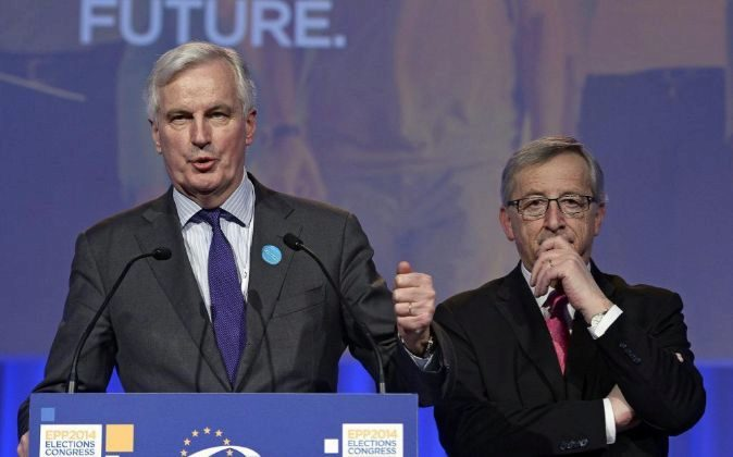 Michel Barnier, negociador jefe de la Unión Europea para el Brexit...