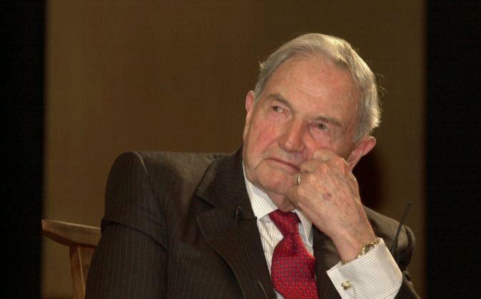 David Rockefeller (imagen de 2001)