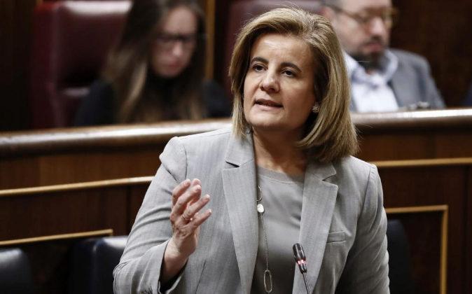 La ministra de Empleo y Seguridad Social, Fátima Báñez, el pasado...