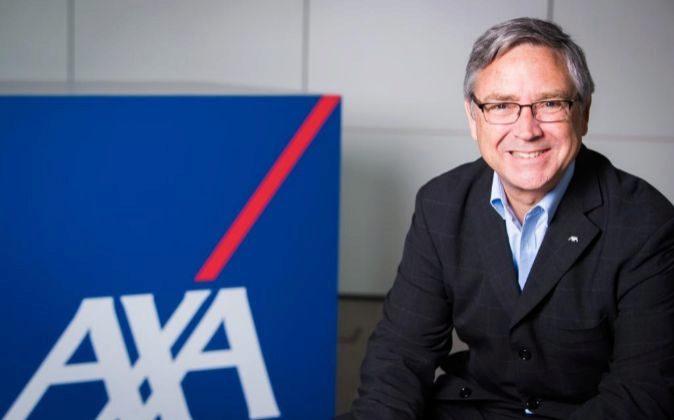 Jean-Paul Rignault, presidente y consejero delegado de Axa España.