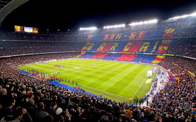 El Camp Nou, el estadio del FC Barcelona