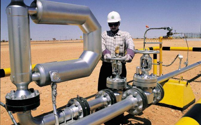 Refinería petrolífera de Aramco.
