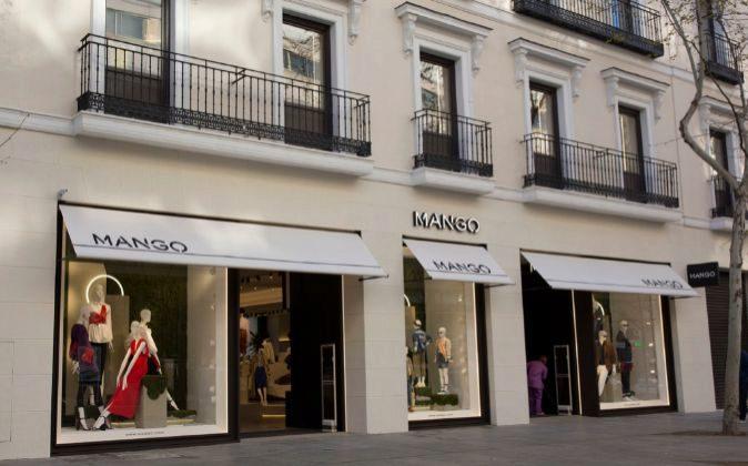 Imagen del nuevo establecimiento de Mango, en Serrano 60, propiedad de...