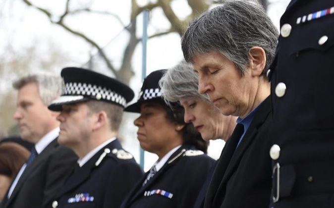 La nueva comisaria jefe de la Policía Metropolitana de Londres,...