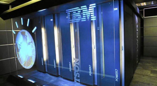 Super ordenador Watson de IBM.