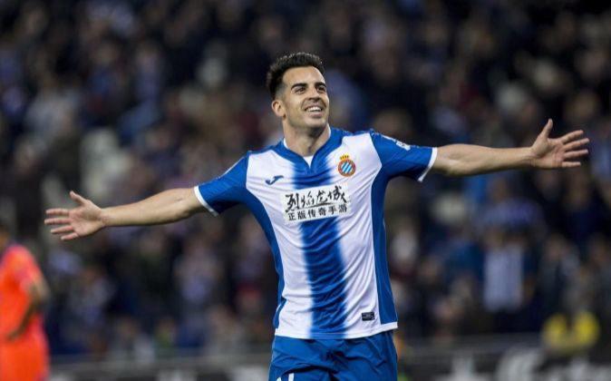 El centrocampista del RCD Espanyol José Manuel Jurado.