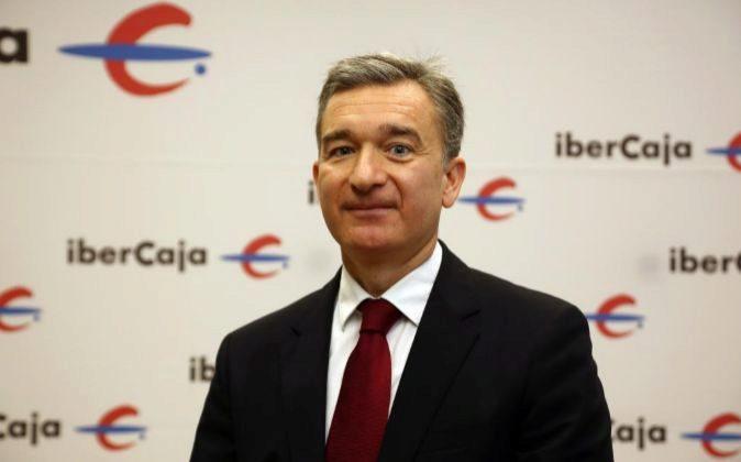Víctor Iglesias, consejero delegado de Ibercaja.