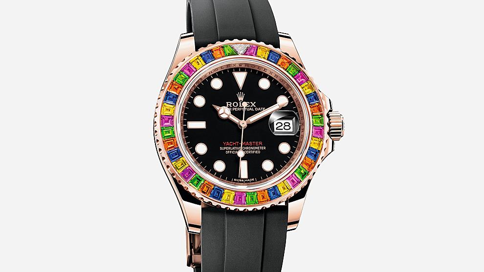 Rolex presenta en la feria relojera un modelo especial de su...