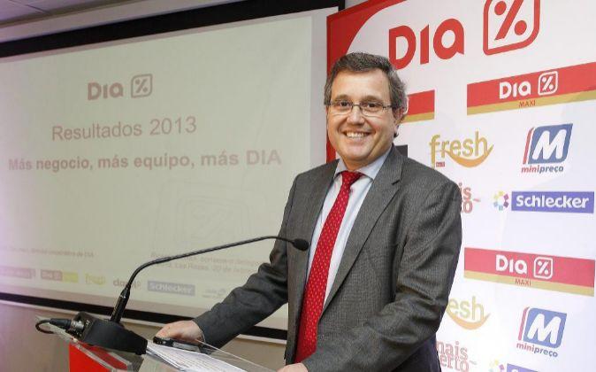 Foto de archivo de Ricardo Currás, el consejero delegado de Dia.