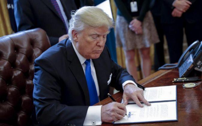 STX20 WASHINGTON (ESTADOS UNIDOS), 24/01/2017.- El presidente de EEUU,...