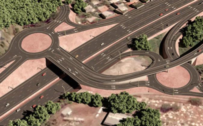 La vía Panamericana, tramo Puente de las Américas-Arraiján, tiene...