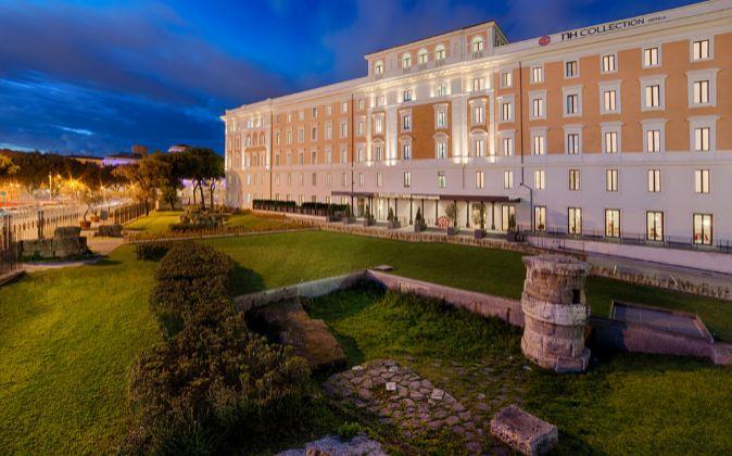 Hotel NH Collection Palazzo Cinquecento, en Roma.