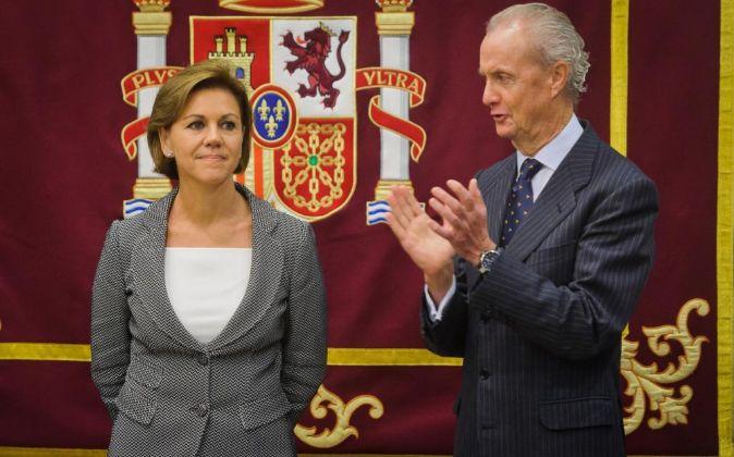 Toma de posesión de María Dolores de Cospedal como nueva ministra de...