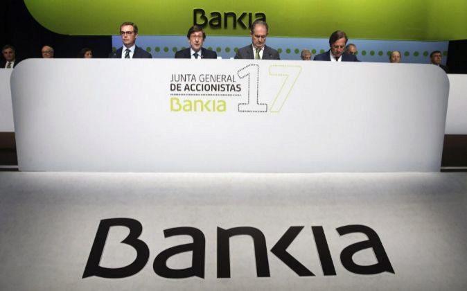 Junta de accionistas de Bankia.