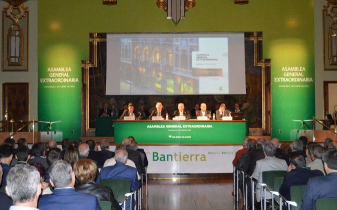 Asamblea general extraordinaria de Bantierra (2015)