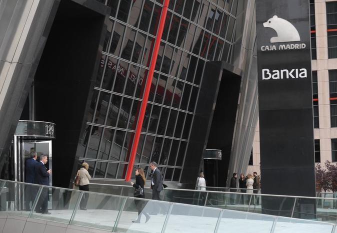 Oficina y sede de Bankia.