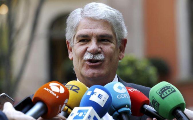 El ministro español de Asuntos Exteriores Alfonso Dastis.