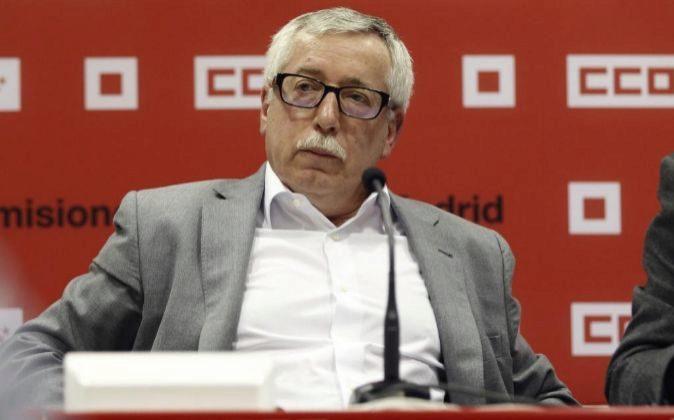 El secretario general de CCOO Ignacio Fernández Toxo.