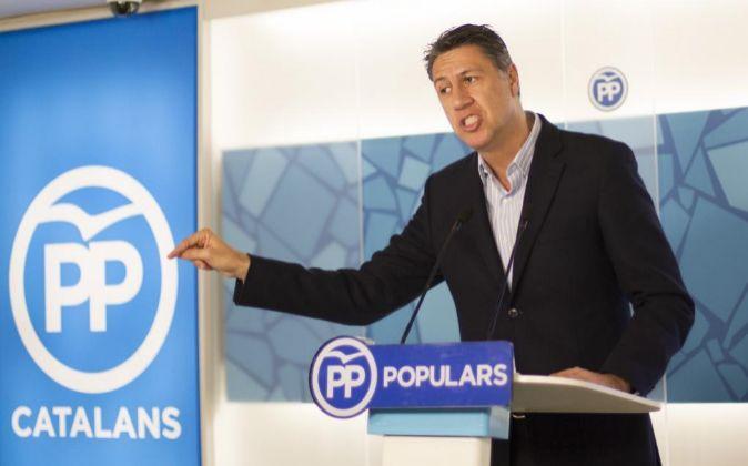 El nuevo presidente del PP en Cataluña Xavier García-Albiol.