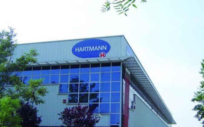Fábrica de la multinacional alemanaHartmann en Mataró.