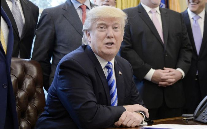 El presidente estadounidense Donald J. Trump.