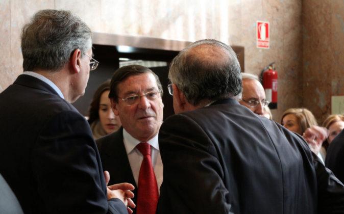 El nuevo presidente del Consejo Consultivo de Aragón, José Bermejo...