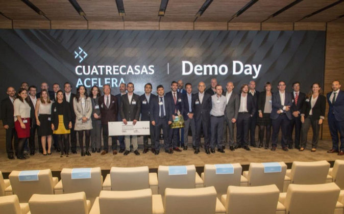 Los participantes en la clausura de la primera edición de Cuatrecasas...