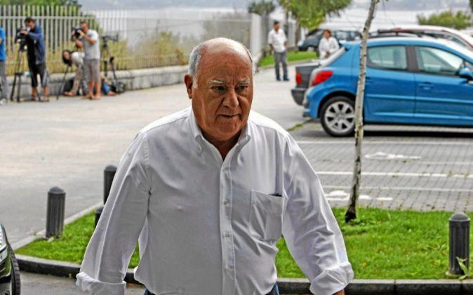 Foto de archivo de Amancio Ortega, fundador del grupo Inditex.