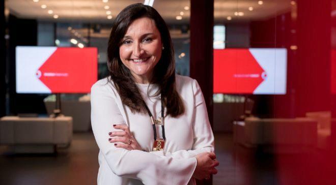 Remedios Orrantia es la directora de recursos humanos de Vodafone en...