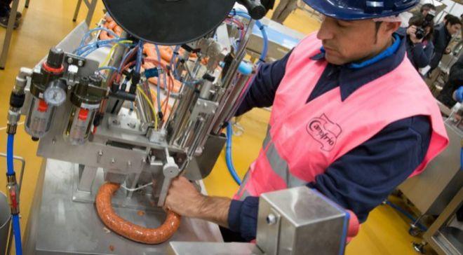 La fábrica de Campofrío en Burgos es una de las más avanzadas del...