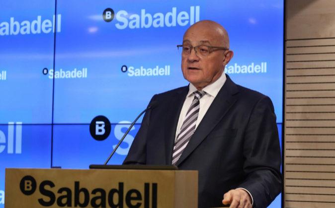 Josep Oliu, presidente del Banco Sabadell.