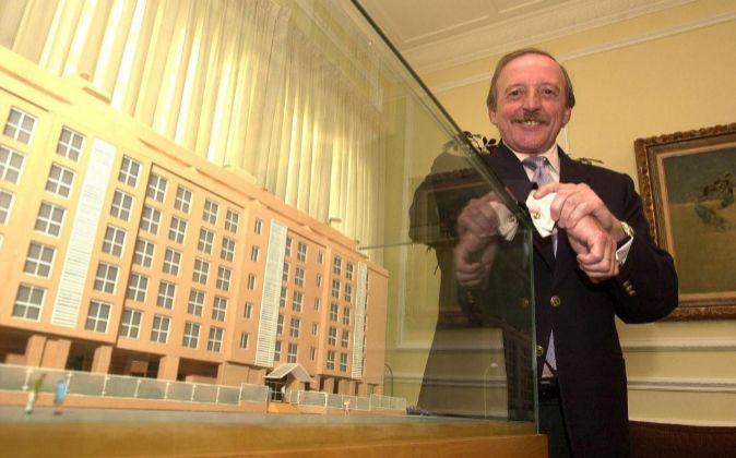 Rafael Santamaría, presidente de Reyal Urbis