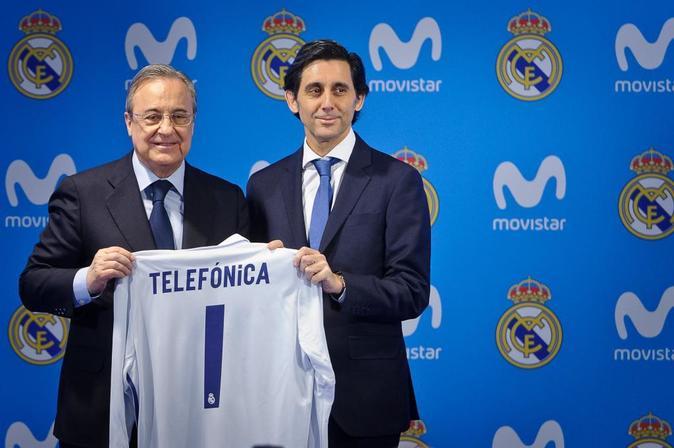 La conexión de Telefónica y el Real Madrid 4d82808cb0519