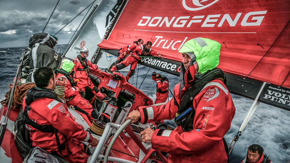 Dongfeng Race Team | Yann Riou | Volvo Ocean Race